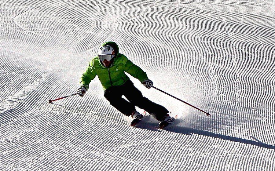 Material duro. Esquís de taller.