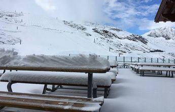 Alerta por nieve y frío en alta montaña