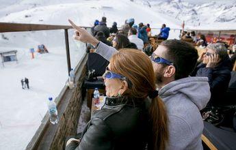 Así fue el Eclipse Solar en Valle Nevado