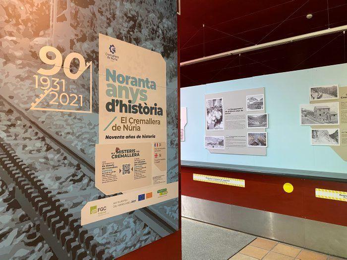 Exposición de los 90 años del Tren Cremallera
