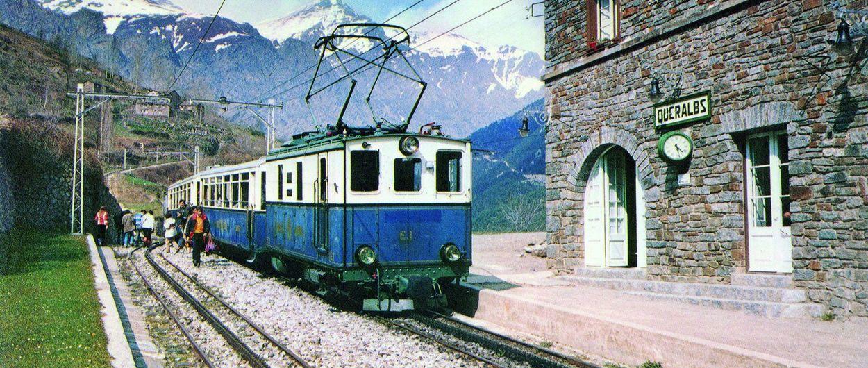 Se abre una exposición de los 90 años del Tren Cremallera de Núria