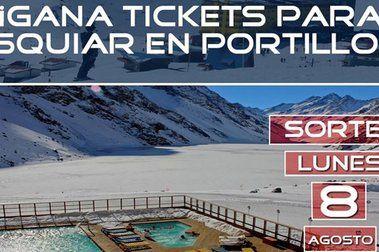 De nuevo... ¡Gana tickets dobles para esquiar en Portillo!