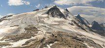 El glaciar de Tignes ayer miércoles, con hielo gris y ya sin nieve, cierra este viernes. Captura de pantalla