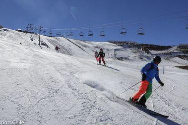 Continúa la temporada de nieve en La Parva