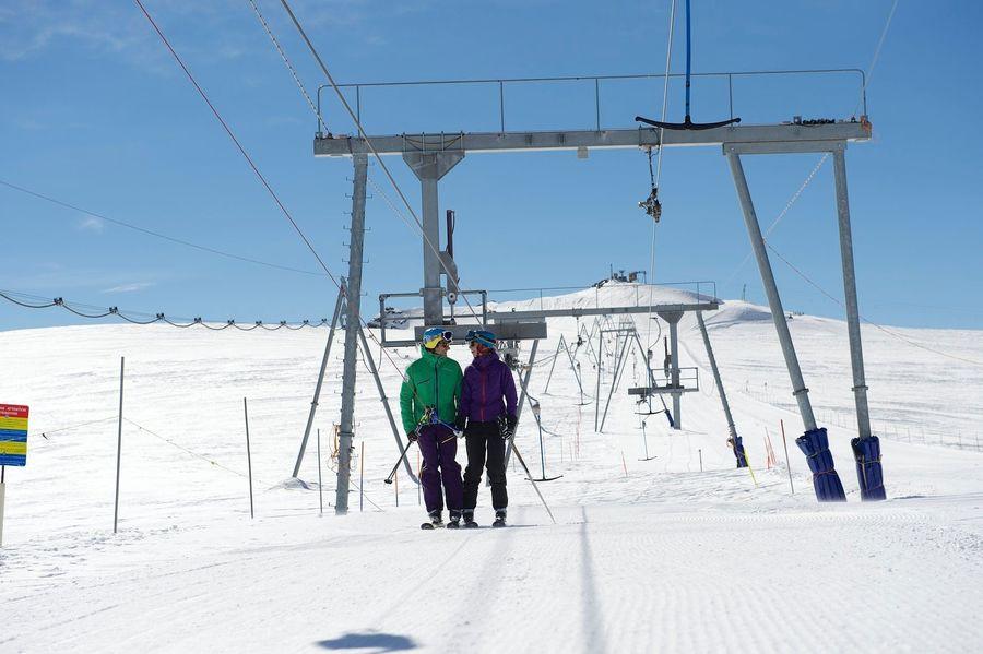 Telesqui en Zermatt