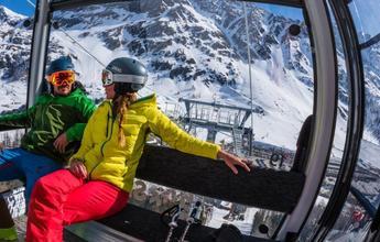 Las estaciones de esquí que abren en septiembre