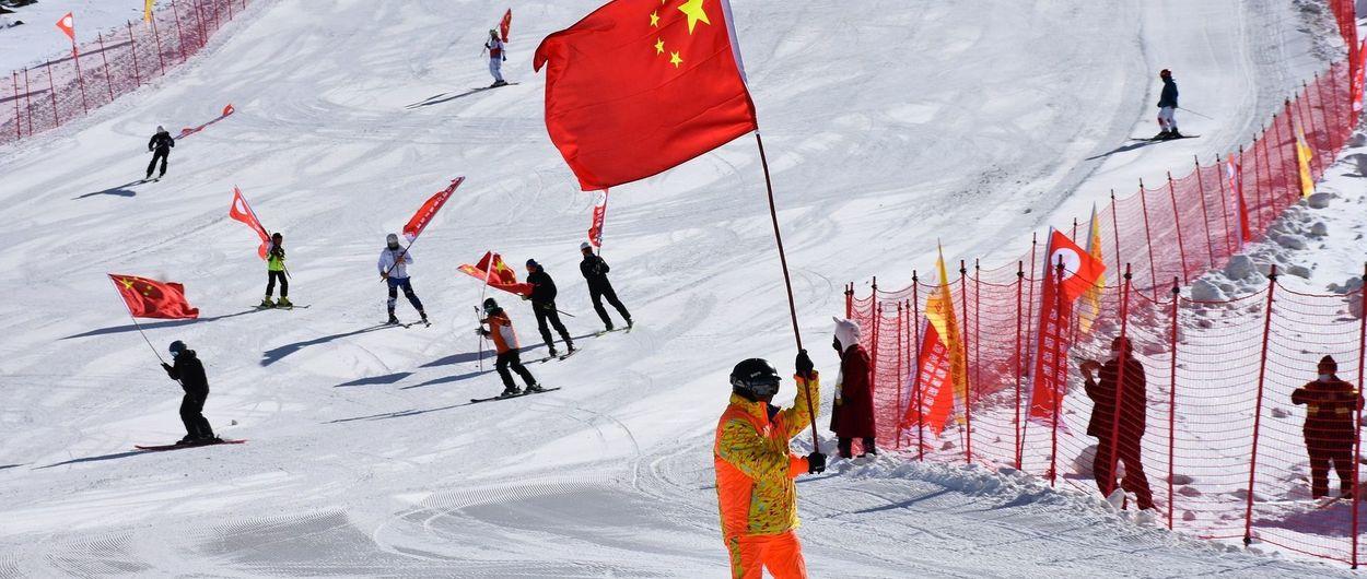 Koktokay Ski se encarga de abrir la temporada de esquí en China y en el hemisferio norte