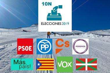 Elecciones generales 10N: ¿Como afectarán estas elecciones al mundo del esquí?