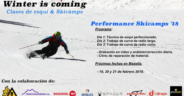 Winter is coming: Performance skicamps 2018