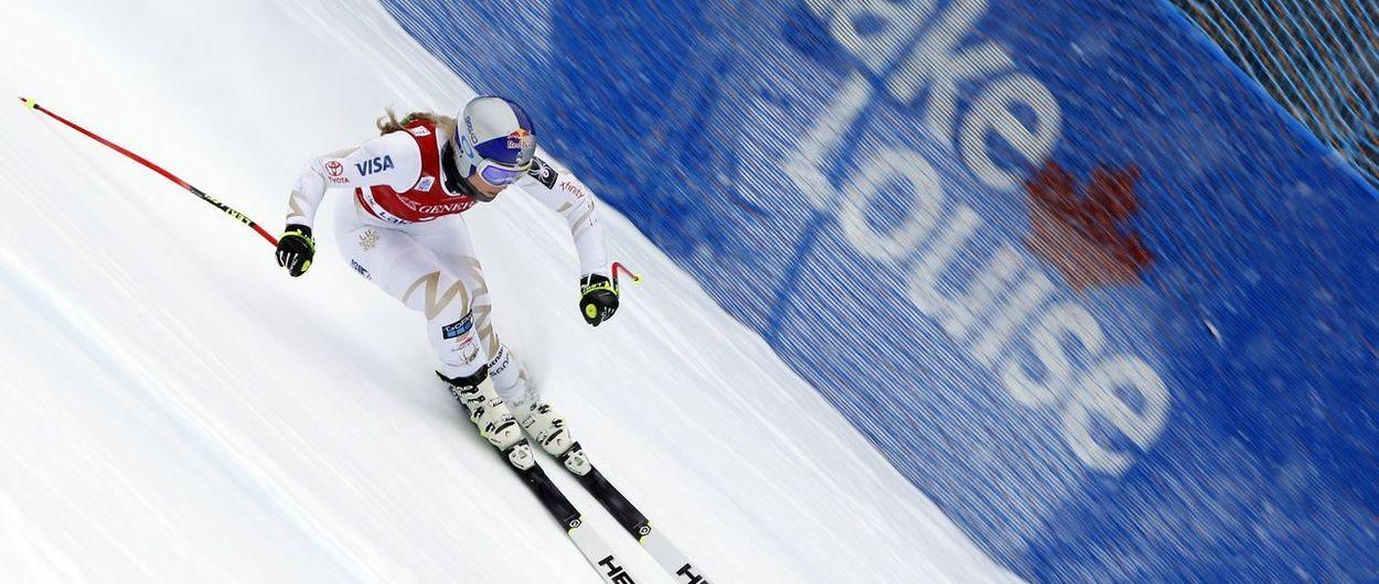 Lake Louise homenajea a Lindsey Vonn renombrando una pista de esquí