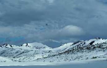 Primera esquiada de la temporada en San Isidro