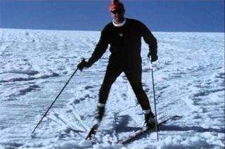 Clase de esquí con Maury Flanagan