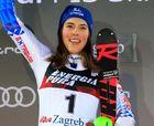 Petra Vlhova le da un repaso a Mikaela Shiffrin en el Slálom de Zagreb
