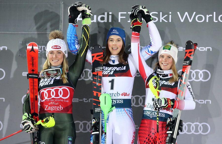 Podio Zagreb slalom 2020