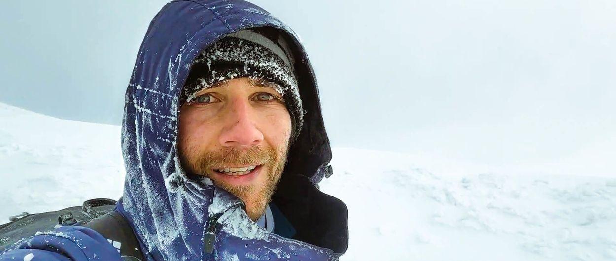 Frío extremo y skimo por la Sierra de Guadarrama