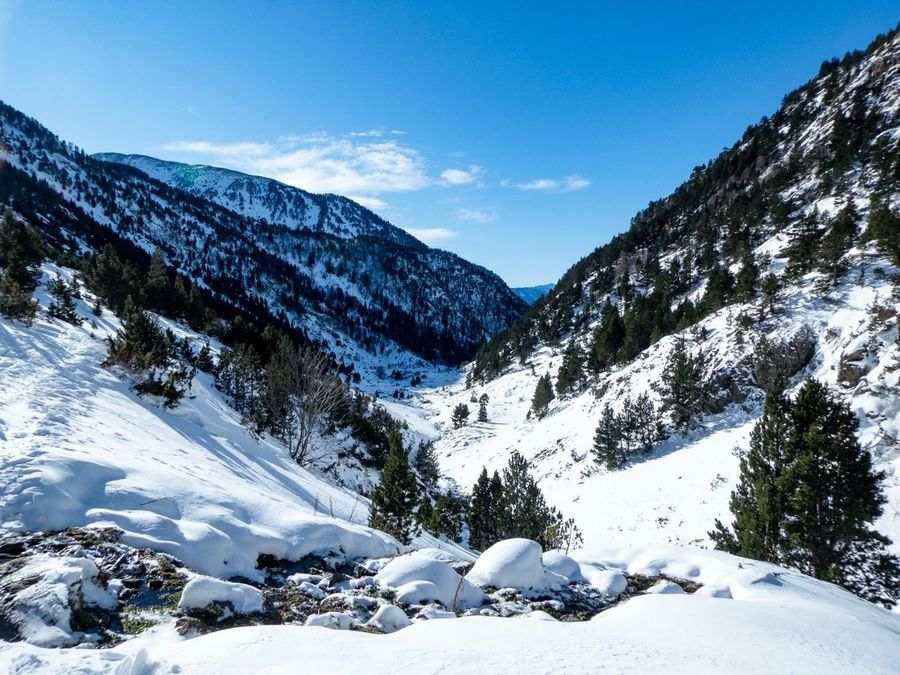 Skimo en el Vall del Rialb (Andorra)