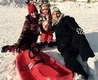Messi se va a la nieve y elige Canaro