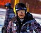 Instructor de esquí con... 90 años!