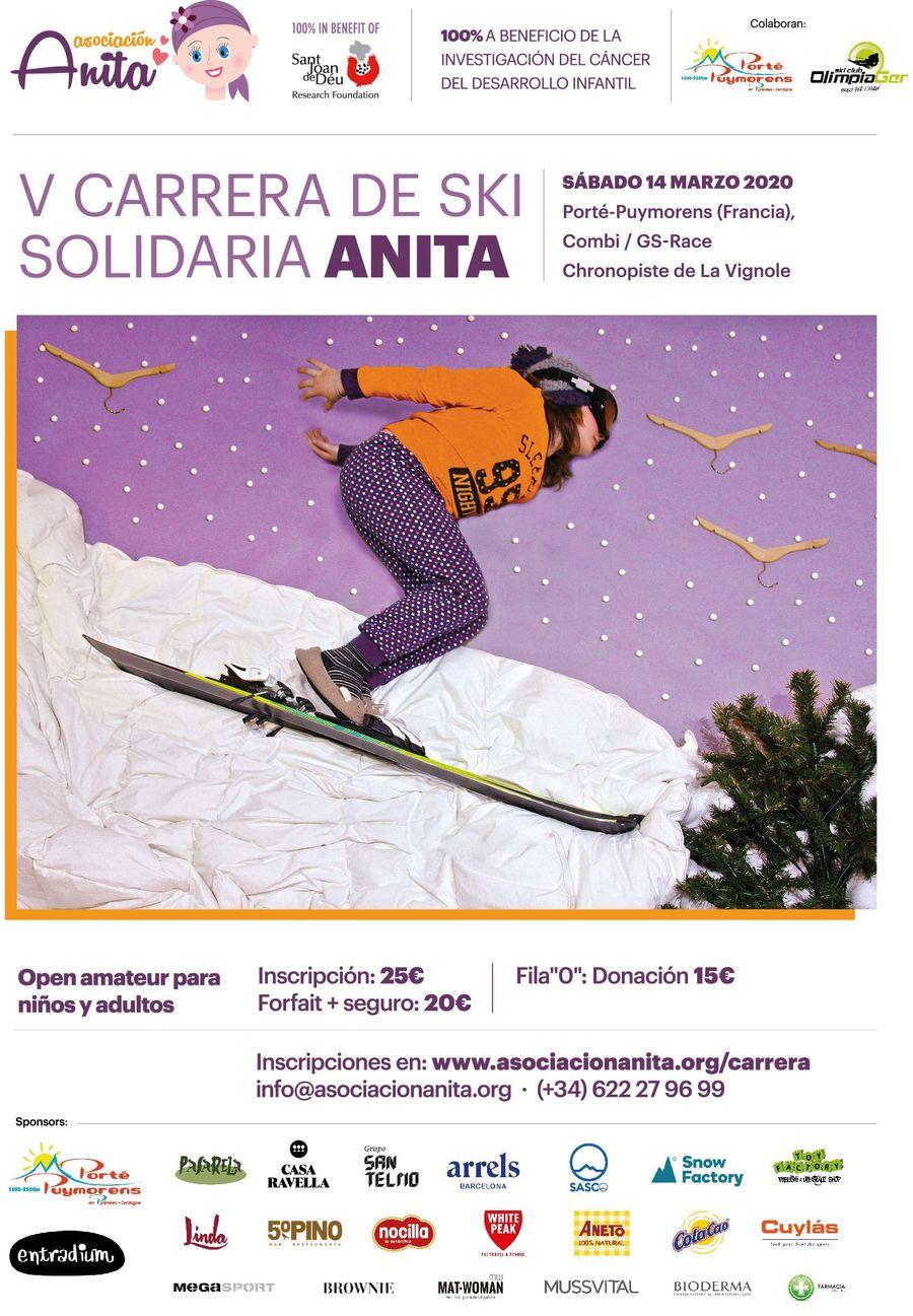 Carrera Anita Esqui Alpino