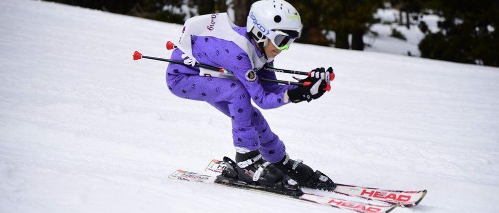Porté Puymorens acoge la V Carrera Solidaria Anita de esquí alpino