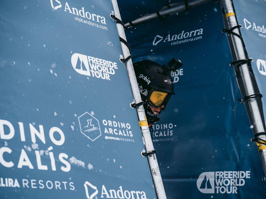 Salida Freeride World Tour de Ordino Arcalis
