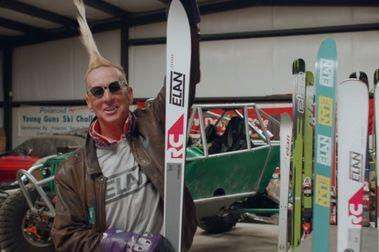 Elan vuelve a lanzar los viejos esquís rectos de Ingemar Stenmark