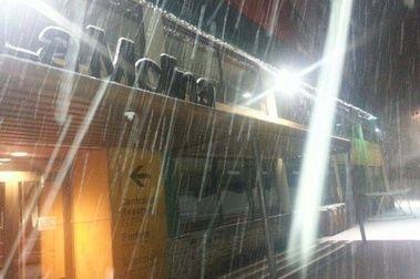 Tras un día de suspense... ¡Llegó la nieve!