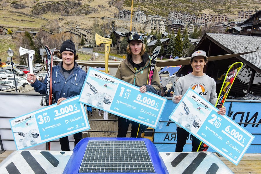 Los suizos revientan el Total Fight de Freeski en Grandvalira