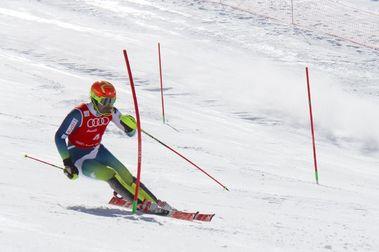 Núria Pau y Quim Salarich son los campeones de España de Slalom