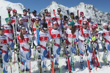 Equipo Oficial de Suiza de esquí alpino temporada 2018-2019