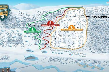 Hamra Syd: En Suecia abrirá la segunda estación de esquí del mundo con 'remonte humano'