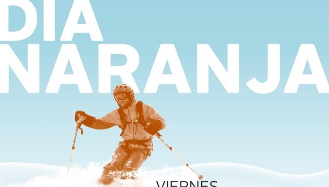 Este Viernes es el Día Naranja en Nevados de Chillán