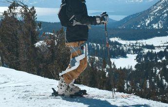 Roam Robotics inventa un exoesqueleto para esquiar sin parar