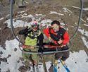 Último día de esquí en Portillo