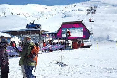 Sierra Nevada prepara para abrir su temporada de esquí en 8 semanas