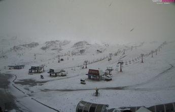 Vuelve a nevar sobre Sierra Nevada