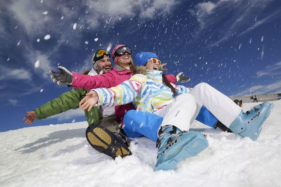 Esquiadores en Font Romeu