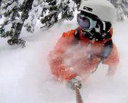 Esquiar puede ser muy duro