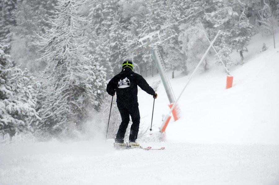Ejercicios de esqui principio temporada