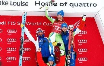 Ilka Stuhec sorprende con una segunda victoria consecutiva