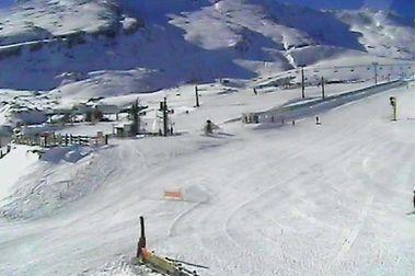 Alto Campoo ya tiene abiertas la mitad de sus pistas de esquí