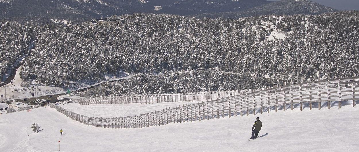 Navacerrada abre su temporada de esquí 2017-2018