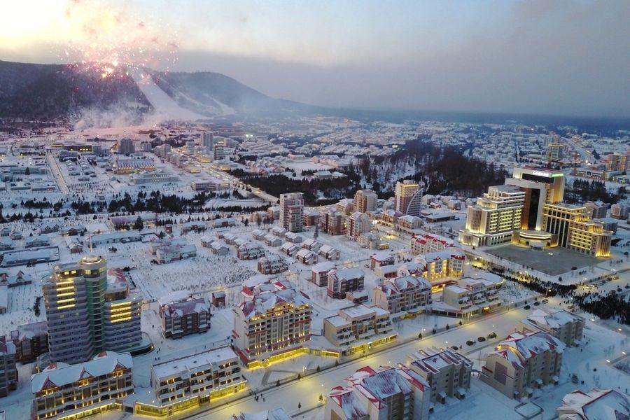 Samjiyon ski North Corea Corea del Norte