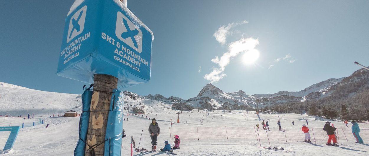 Excelentes condiciones en Grandvalira para esquiar este Puente de la Inmaculada