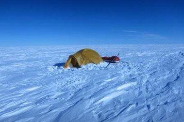 Albert Bosch arriba al Pol Sud!
