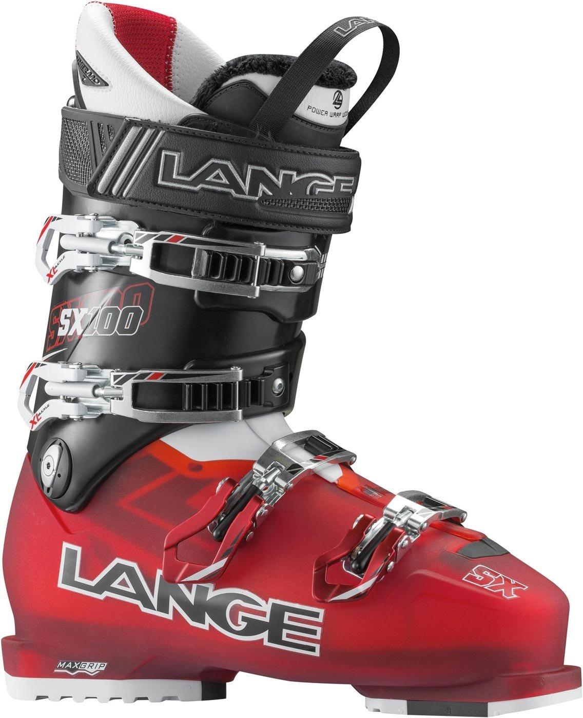 10665ee63f La bota para pista Lange SX 100 es ideal para esquiadores atléticos que  buscan el confort y la facilidad de uso de una bota de 102mm sin tener que  renunciar ...