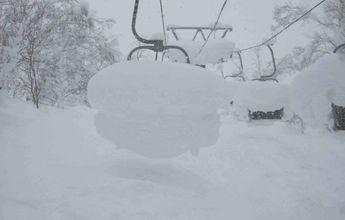 Niseko va camino de los 7 metros de nieve acumulada