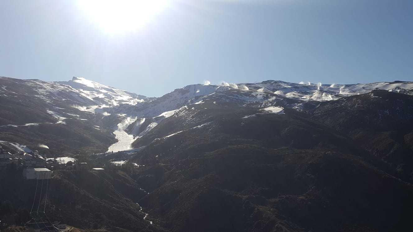 Panoramica de Sierra Nevada