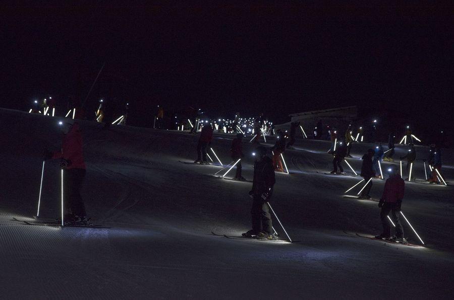 e-tron Ski Night Baqueira 2019
