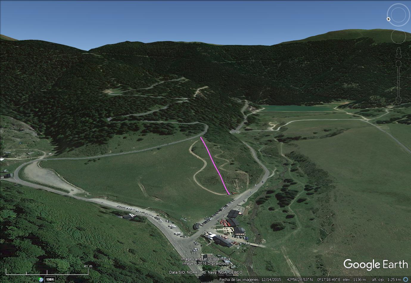 Vistas Google Earth Payollé 2016-17